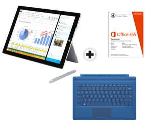 Pack Surface pro 3 - I5 - 128go + Cover + Microsoft office