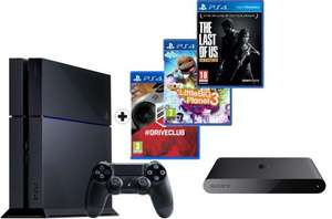 Console PlayStation 4 + Driveclub + Little Big Planet 3 + The Last Of Us + PlayStation TV