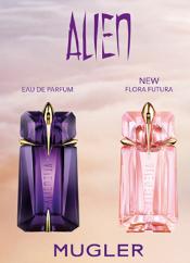 Échantillons Gratuits Eau de Toilette Thierry Mugler Flora Futura  et Eau de parfum Alien