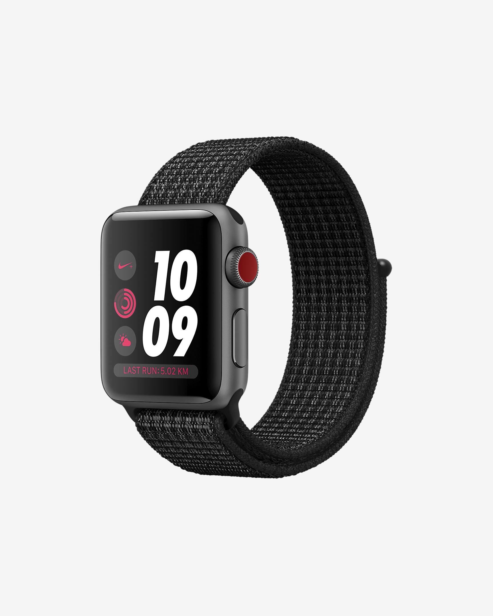 Montre connectée Apple Watch Nike+ Series 3 (GPS + Cellular) - 38mm