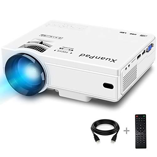 Mini-vidéoprojecteur XuanPad - full HD, 1080p, 2400 lumens (vendeur tiers)