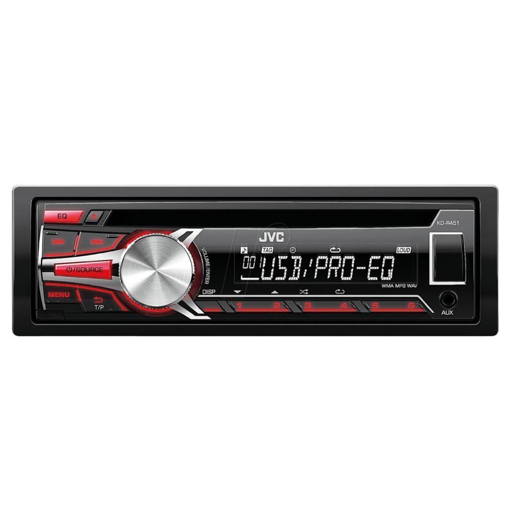 Autoradio CD / MP3 JVC KD-R451E avec port USB