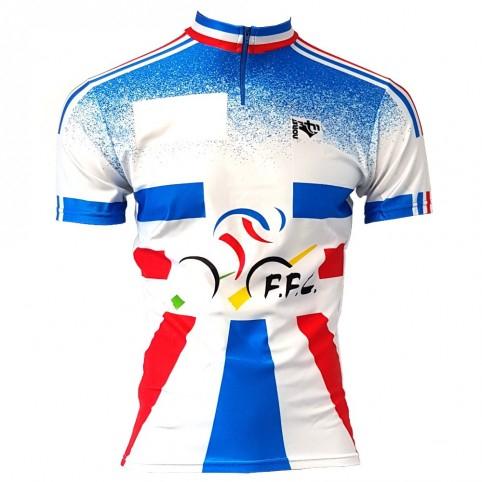 Maillot Equipe de France Cyclisme (Années 90)