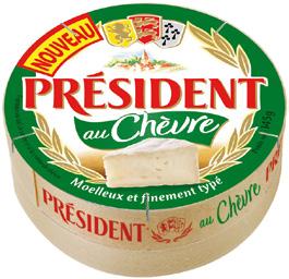 2x Président au chèvre (Avec BDR 0.70€)