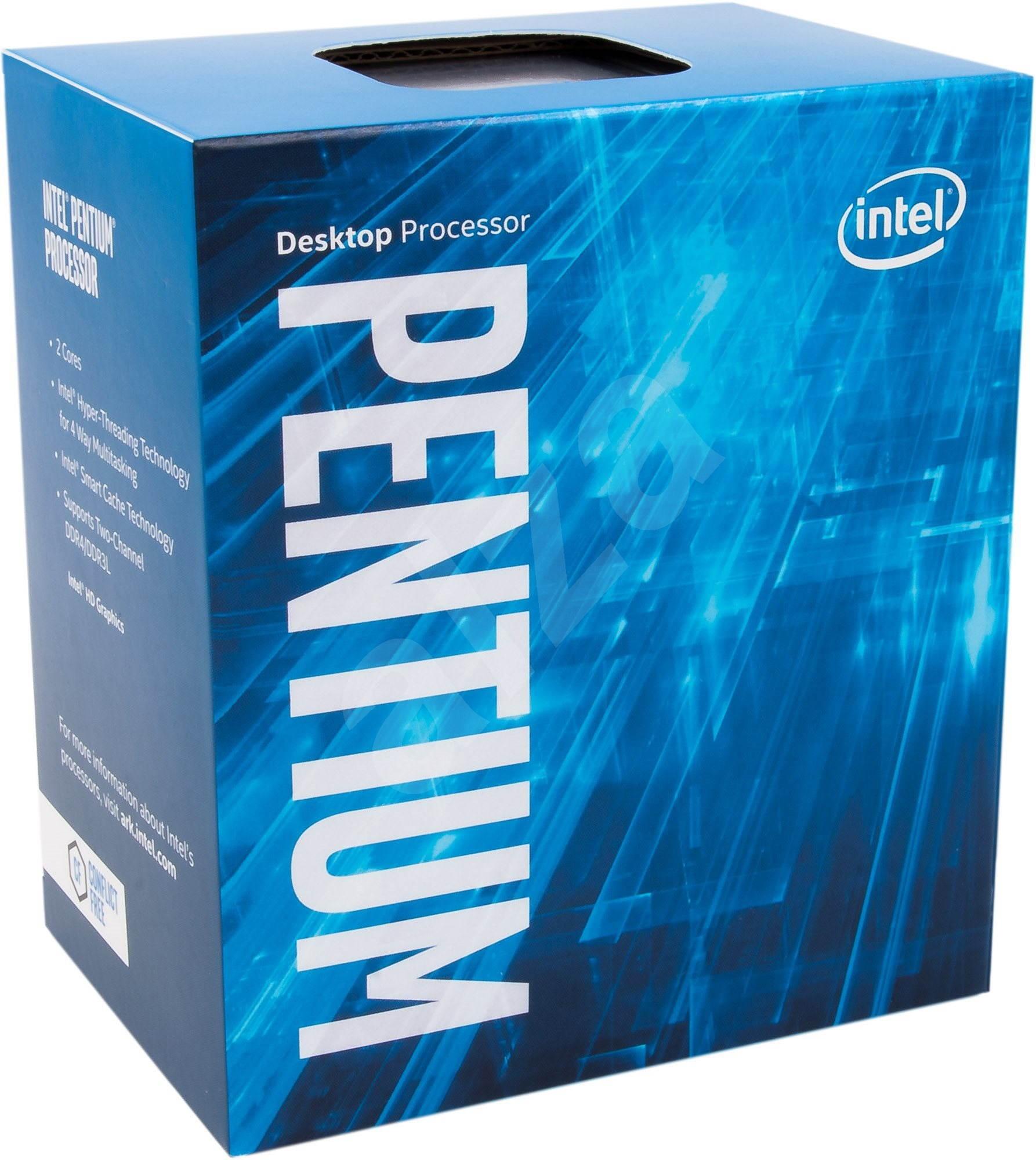 Processeur Intel Pentium G4600