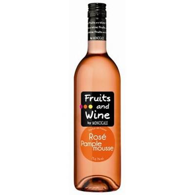 Lot de 6 bouteille de rosé aromatisé Fruits and Wine