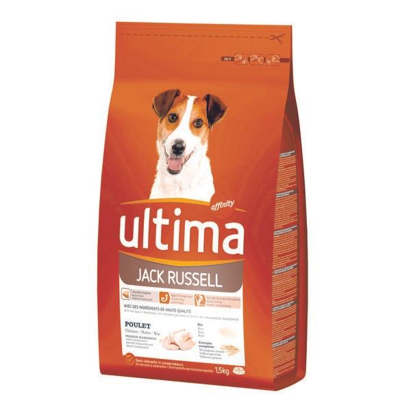 Sélection de produits pour animaux en promotion - Ex: Croquettes pour chien au poulet Ultima 1,5 kg (via 4.27€ sur la carte)