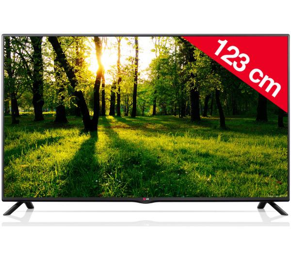 """TV 49"""" LG - Full HD, 2 HDMI, Enregistreur sur USB - 49LB550V"""