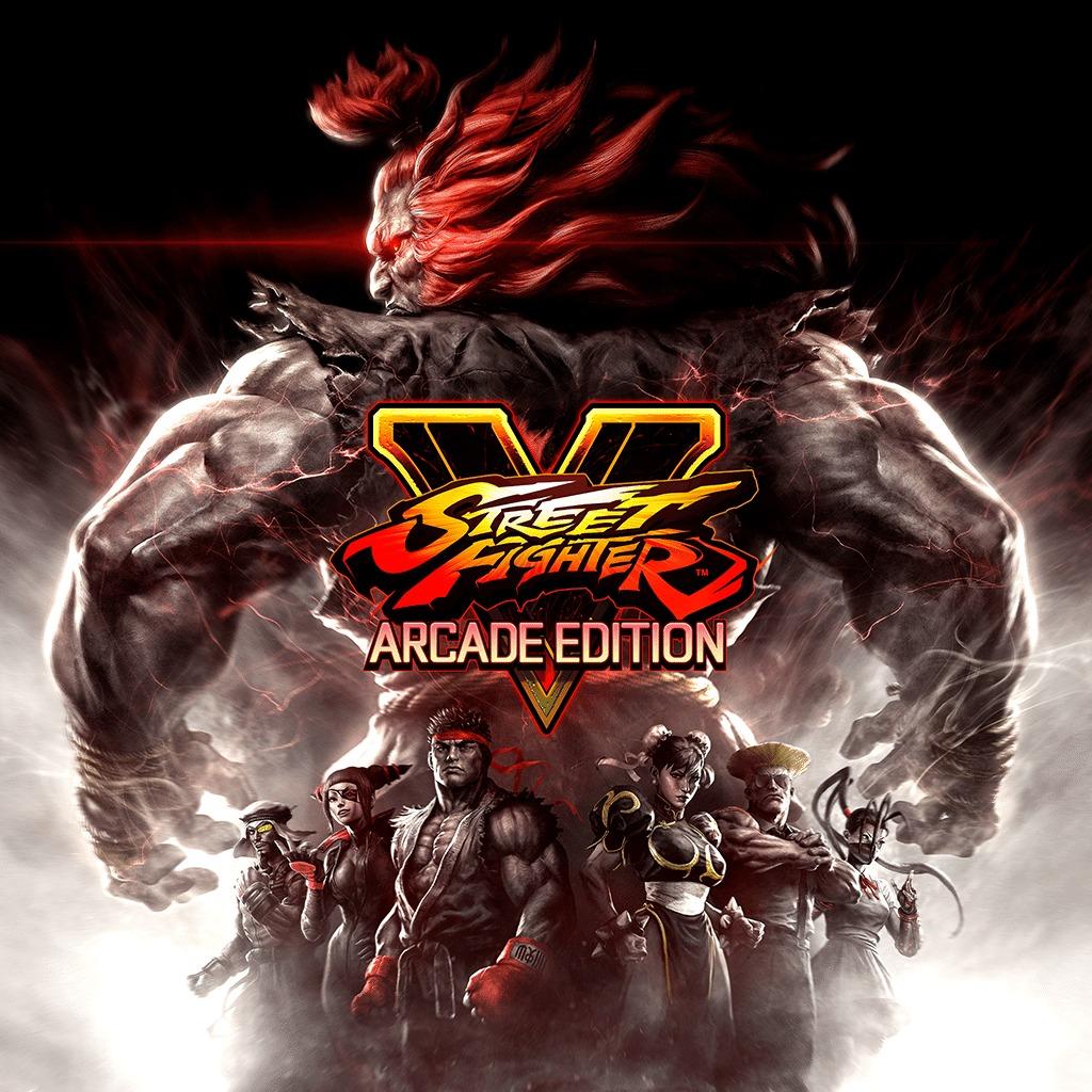 Street Fighter V Arcade Edition sur PS4 (Dématérialisé)