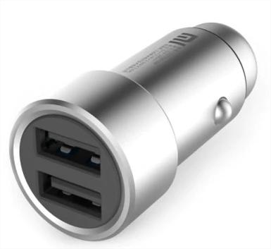 Chargeur allume-cigare Xiaomi RoidMi C1 Noir - 2 Ports USB, Chargement rapide