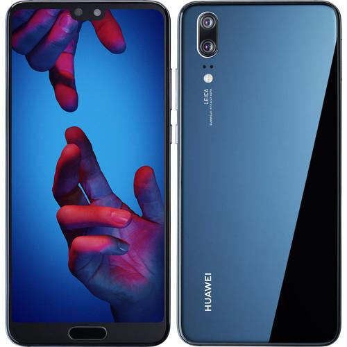 "Smartphone 5,8"" Huawei P20 Dual SIM - Kirin 970, RAM 4Go, 128Go, Android 8, Bleu"