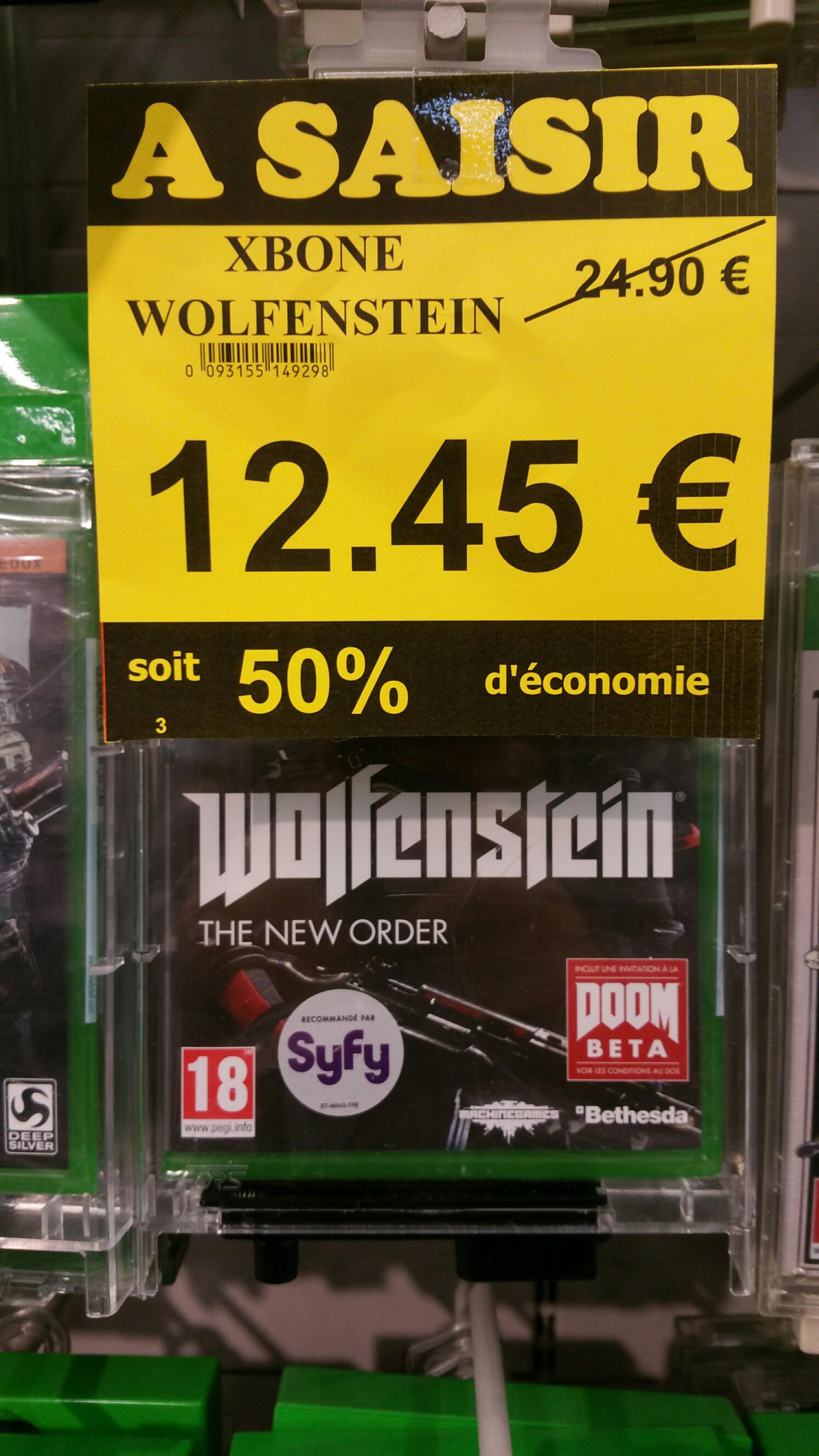 Wolfenstein The New Order sur Xbox One