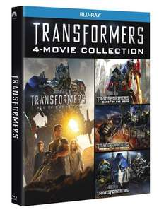 Coffret 4 films Blu-ray Transformers