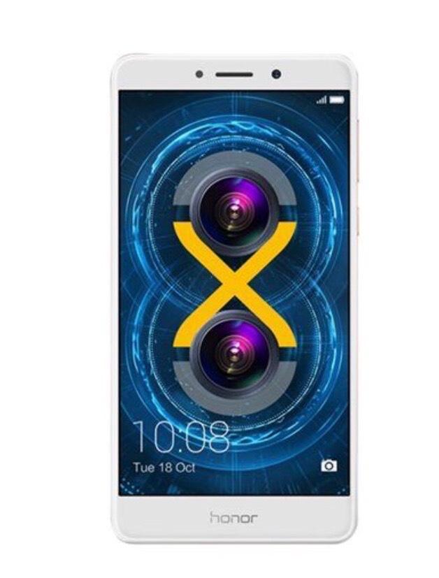 "Smartphone 5.5"" Honor 6X - Full HD, Kirin 655, 3 Go RAM, 32 Go, Blanc (+22.50€ en SuperPoints)"