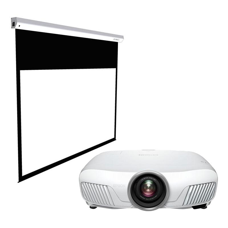 Pack Video Projecteur Epson EH-TW7300 + écran Lumene Majestic Premium 240c