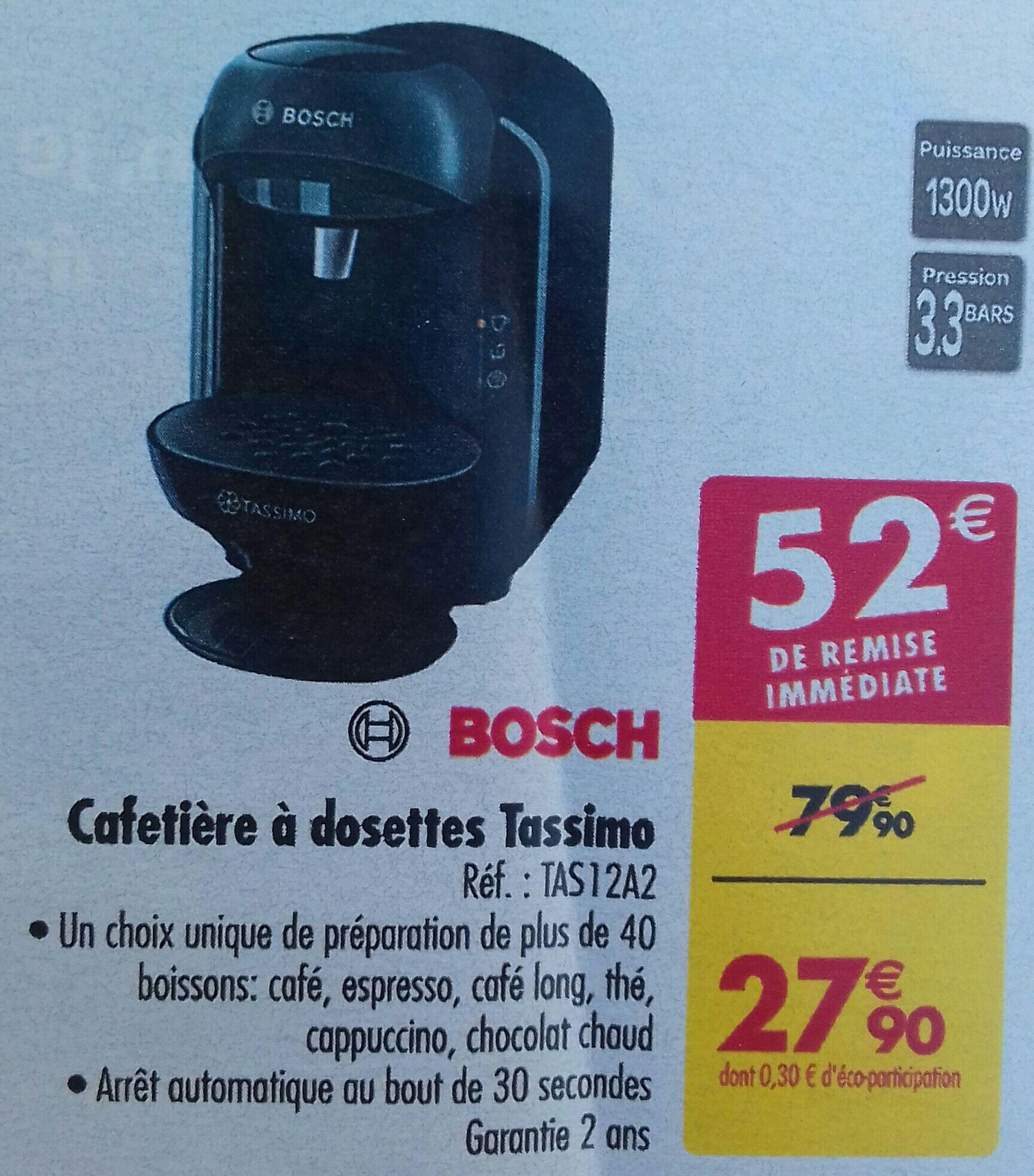 Cafetière à Dosette Bosch Tassimo Vivy TAS12A2 - Noir