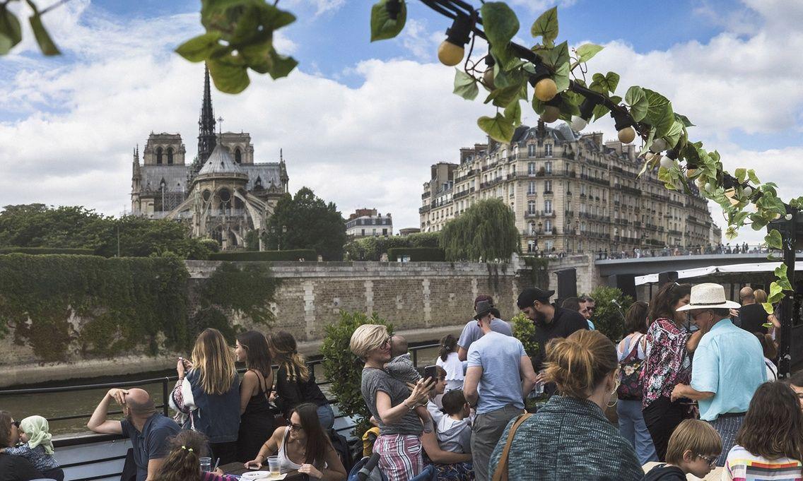 Croisière sur Seine à bord d'une Guinguette Flottante - 1 personne pour 5.60€, 2 pour 10.40€ et 4 pour 19.20€ (75)