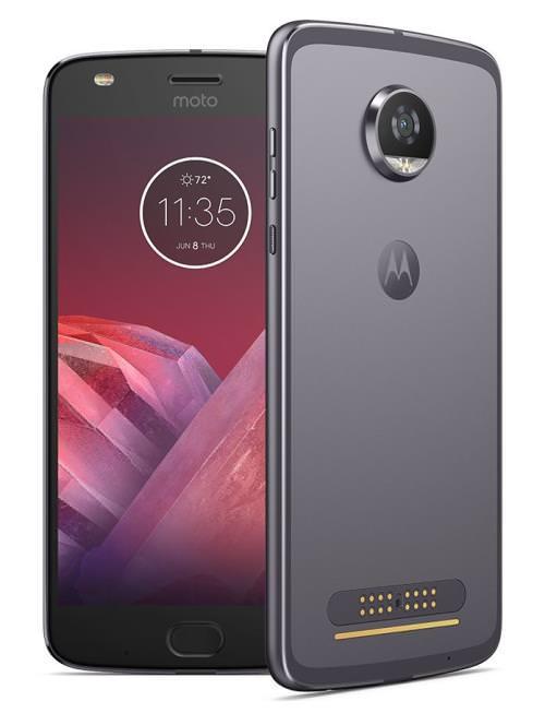 "Smartphone 5.5"" Motorola Moto Z2 Play Gris - 64 Go (Vendeur tiers)"