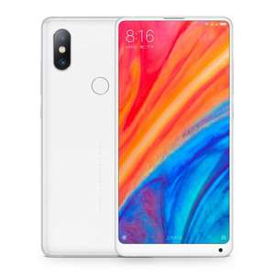 "Smartphone 5.99"" Xiaomi Mi Mix 2s - full HD+, SnapDragon 845, 6 Go de RAM, 64 Go, 4G (B20/B28), blanc"