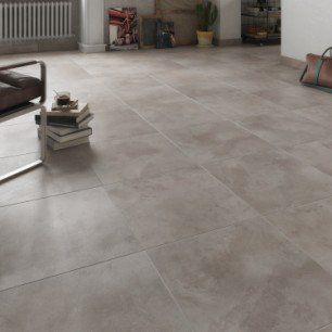 Carrelage sol et mur gris aspect béton, prix au m²