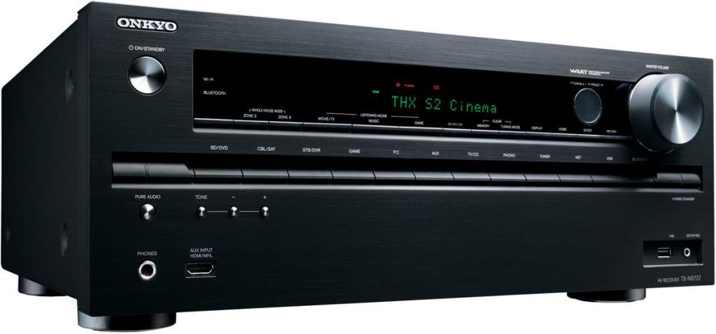 Ampli home-cinéma Onkyo TX-NR737  7.2 THX Select2 noir ou argent