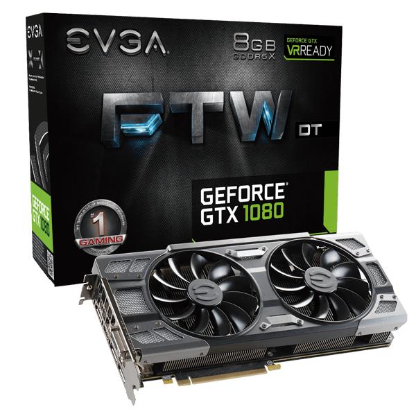 Carte Graphique EVGA GeForce GTX 1080 FTW DT GAMING (eu.evga.com)
