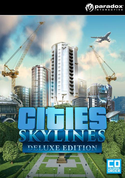 Jeu PC (dématérialisé) Cities: Skylines Deluxe Edition