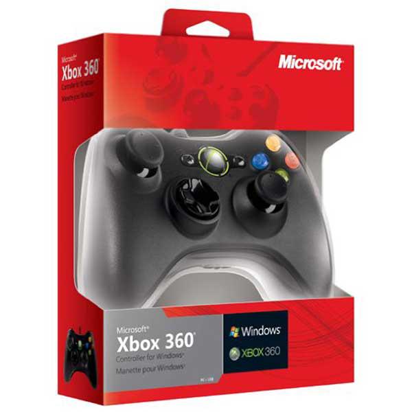 Manette Microsoft  filaire compatible PC / Xbox 360 (17,45€ crédités sur la carte Auchan)