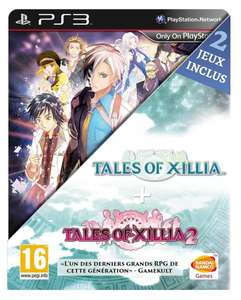 Jeu PS3: Tales of xillia 1 & 2