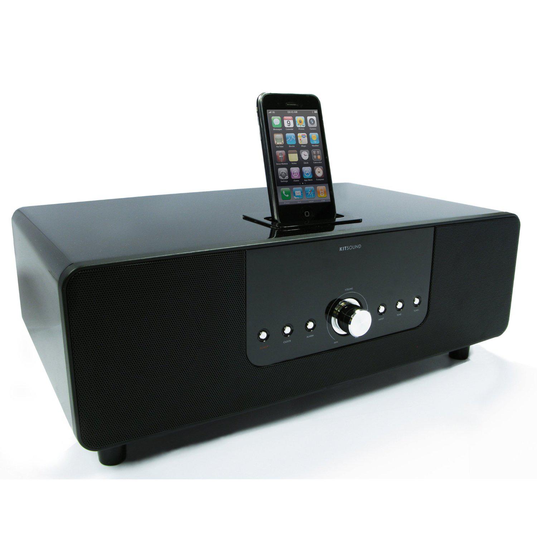 Station d'accueil Bluetooth Kitsound Boomdockeu iPhone, iPod, iPad
