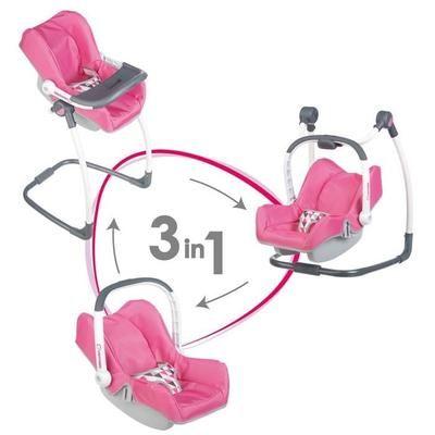 Chaise Haute 3-en-1 Smoby Bébé Confort