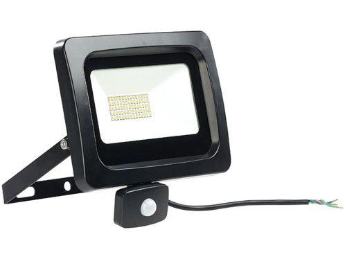 Projecteur étanche à LED 50 W / 4000 lm / blanc du jour avec capteur