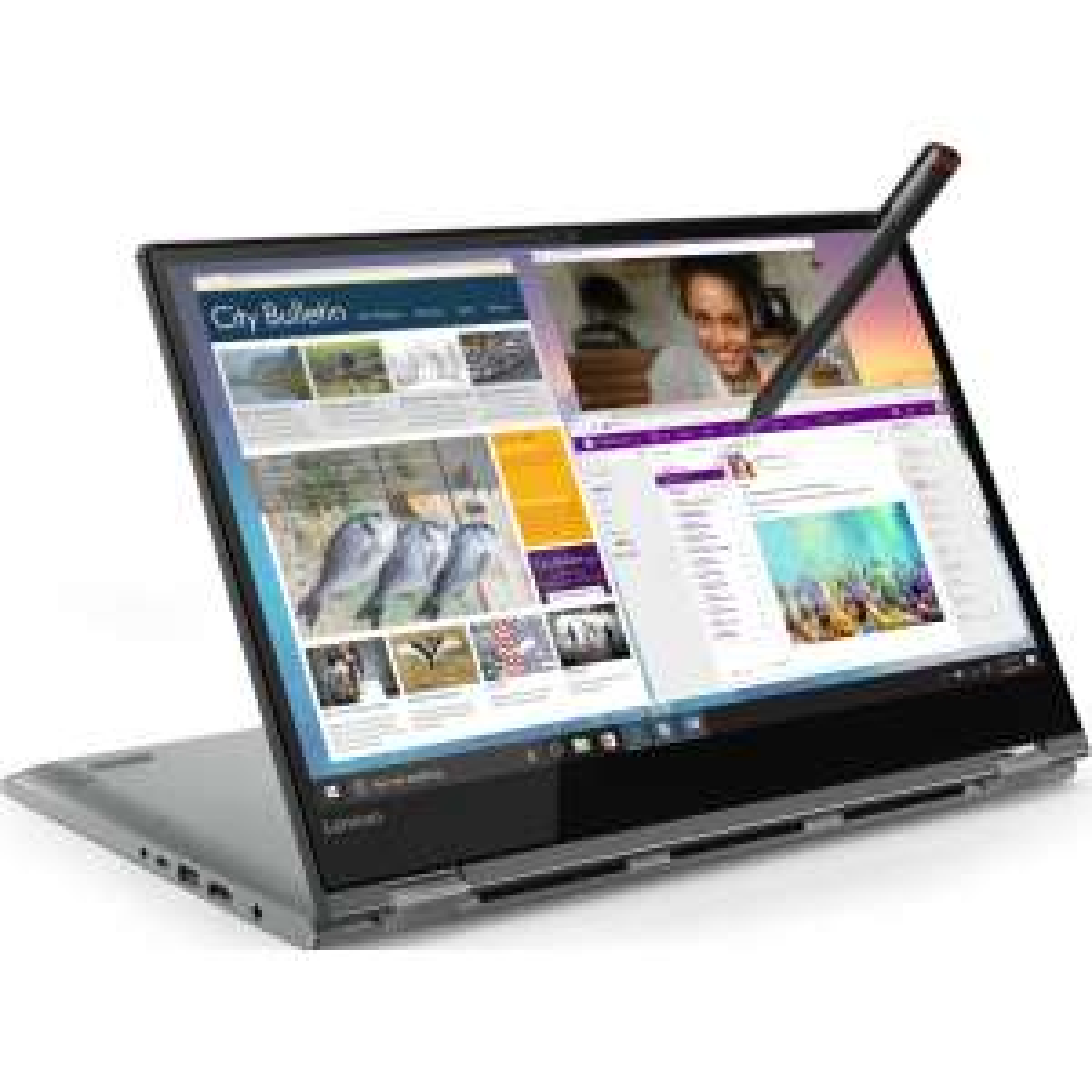 """PC Portable hybride 14"""" Lenovo Yoga 530-14ARR - Ryzen 5, 8 Go RAM, 256 Go SSD (via 100€ ODR)"""