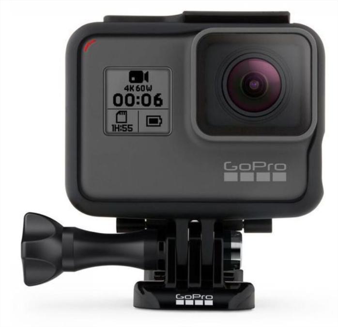 Lot de 2 caméras sportives GoPro Hero 6 Black