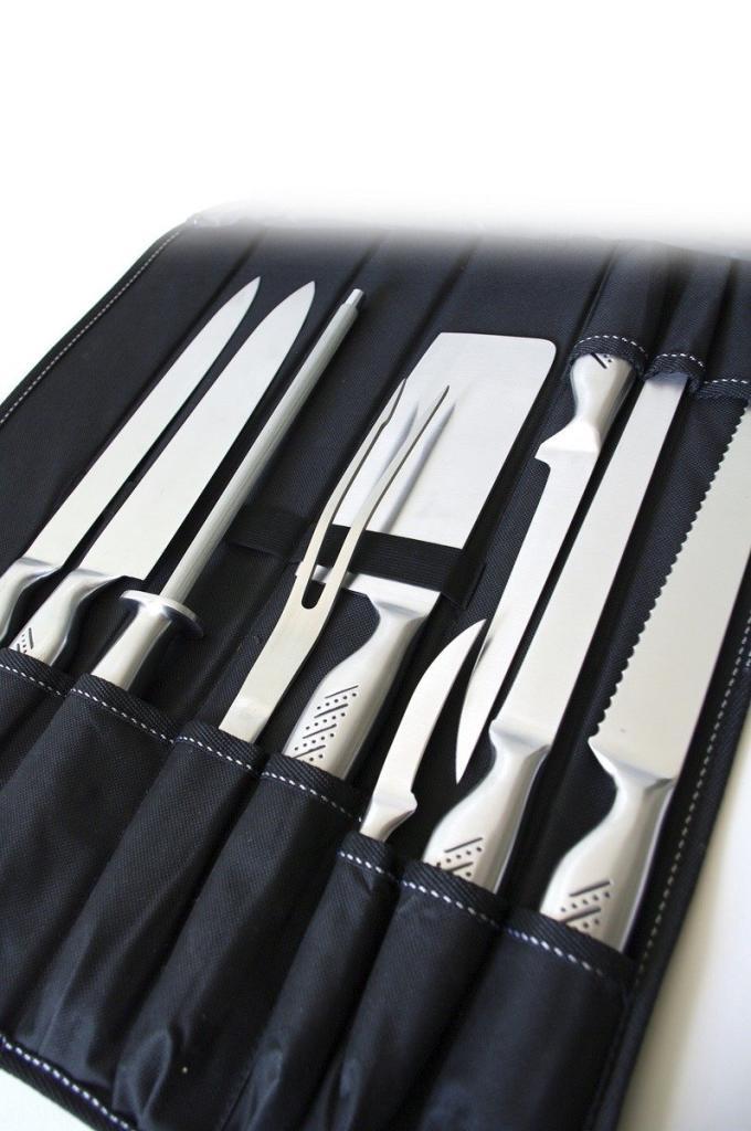 Sacoche de 9 couteaux cuisinier Pradel Excellence I7100 en inox