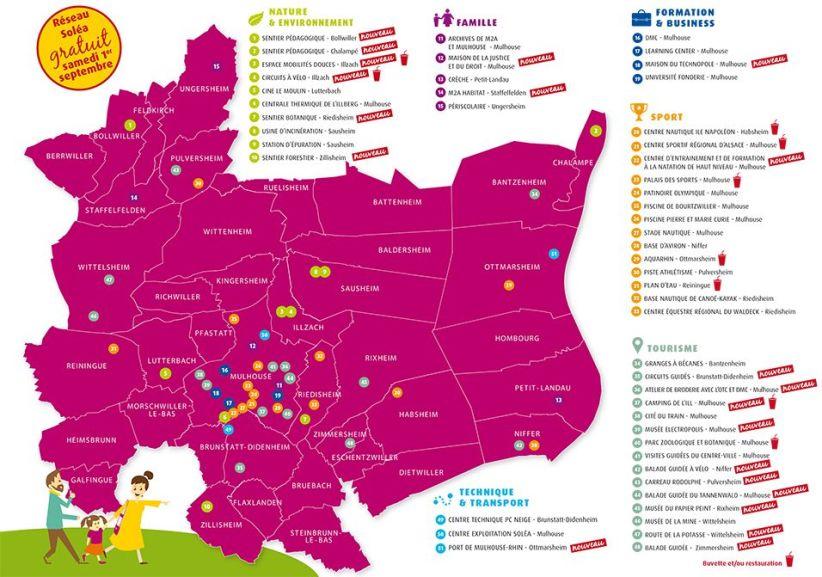 Transports Publics Gratuits sur l'ensemble de la journée à Mulhouse (68)