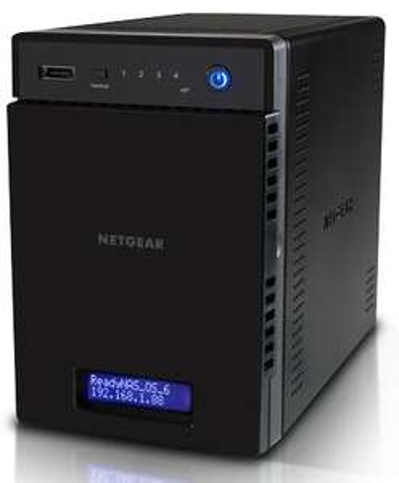 Sélection de NAS Netgear en promo - Ex : NAS Netgear ReadyNAS 104 à 4 baies - RN10400