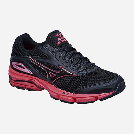 Chaussures de running Mizuno Wave Legend 4 - noir / rose (du 36.5 au 43)