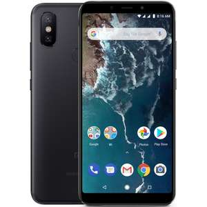 """Smartphone 5.99"""" Xiaomi Mi A2 (Noir - B20) - Android One, Full HD+, Snapdragon 660, RAM 4 Go, ROM 32 Go (+ 52€ en SuperPoints)"""