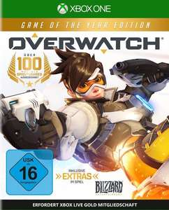 Overwatch - Game of the Year Edition Multiplateforme - Exemple : Xbox One : 9,96 euros (Frontaliers Allemagne)