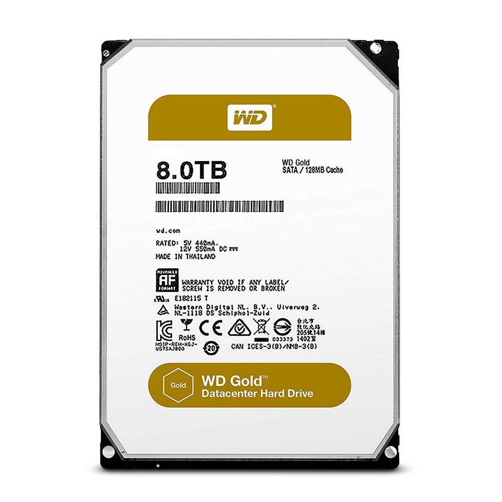 "Disque dur interne 3.5"" Western Digital Gold Datacenter - 8 To"