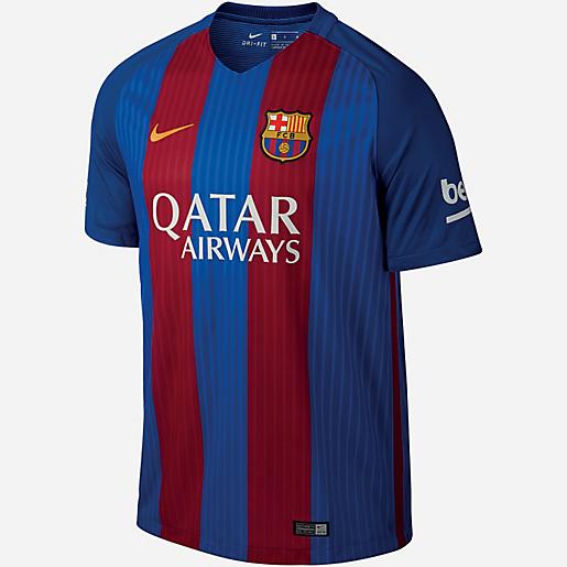 Maillot de football homme FC Barcelone Replica Domicile 2016/2017 Nike