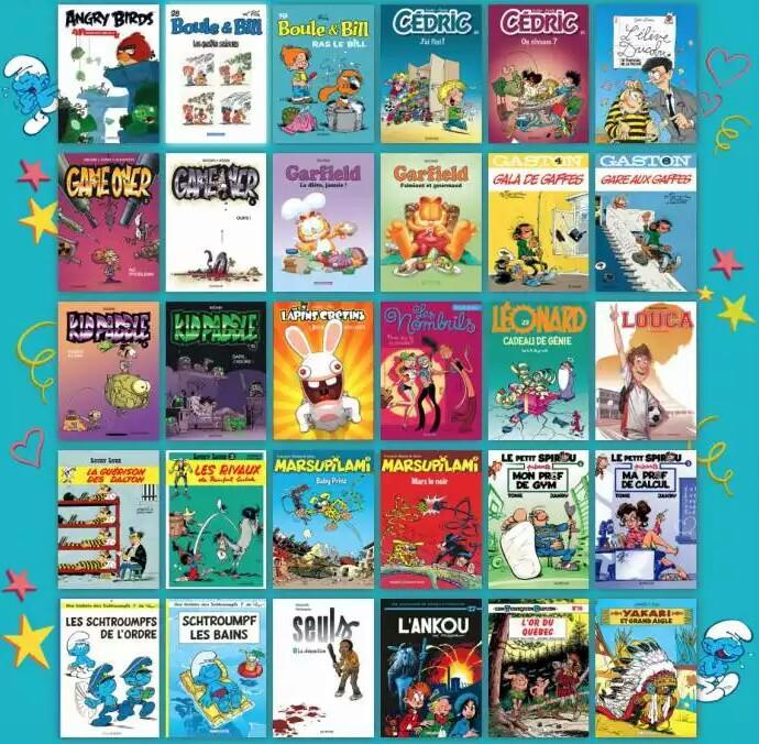 Sélection parmi 30 bandes dessinées à 3€ en ligne et