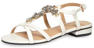 Jusqu'à 30% de réduction sur tout - Ex : Sandales blanches