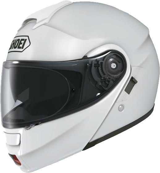 Casque de moto modulable Shoei Neotec - blanc (du XS au XXL)
