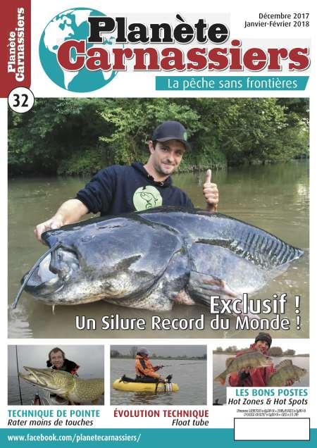 Abonnement d'un an au magazine Planète carnassiers (4 numéros)