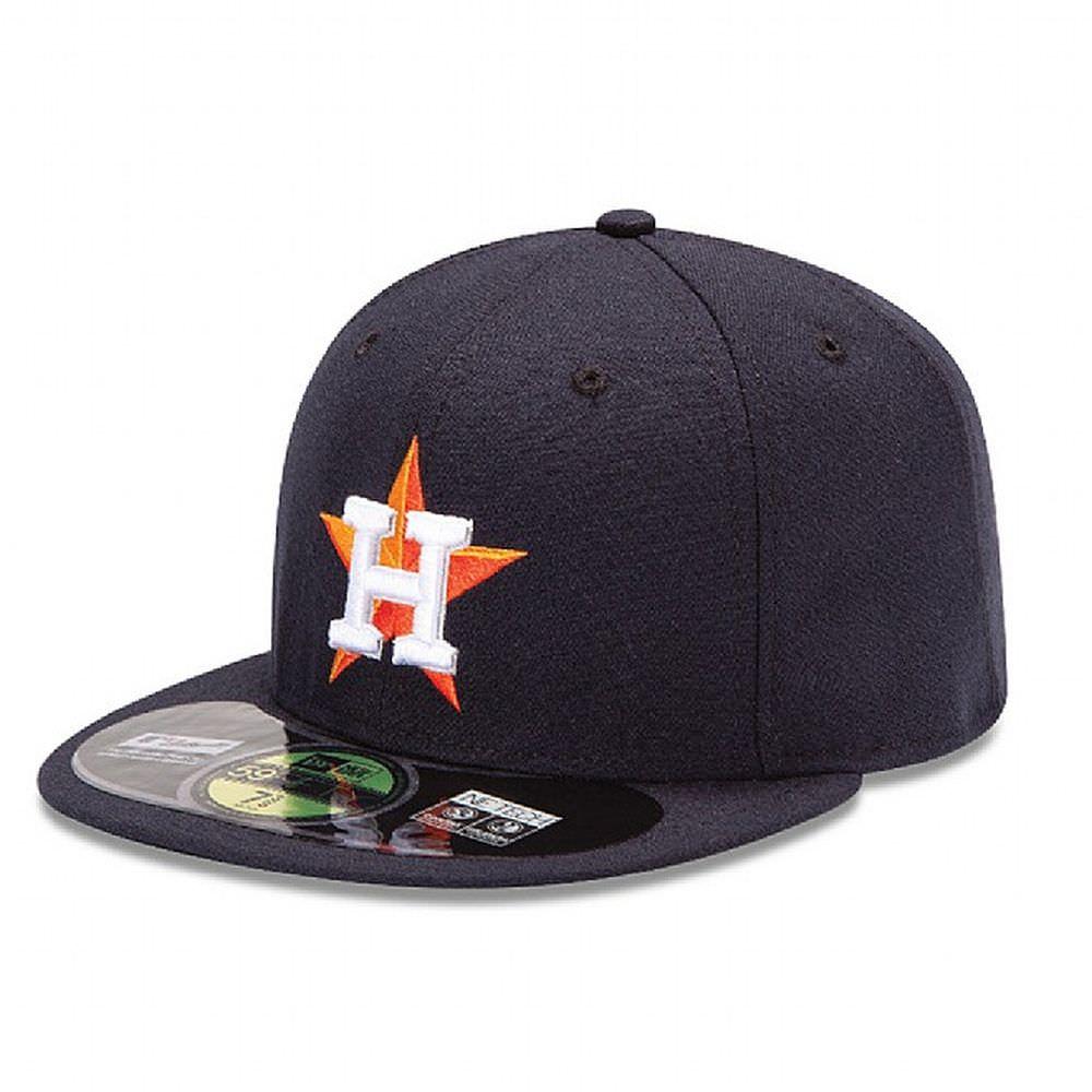 Jusqu'à 50% de réduction sur une sélection de Casquettes - Ex : Houston Astros Authentic On-Field Game 59FIFTY
