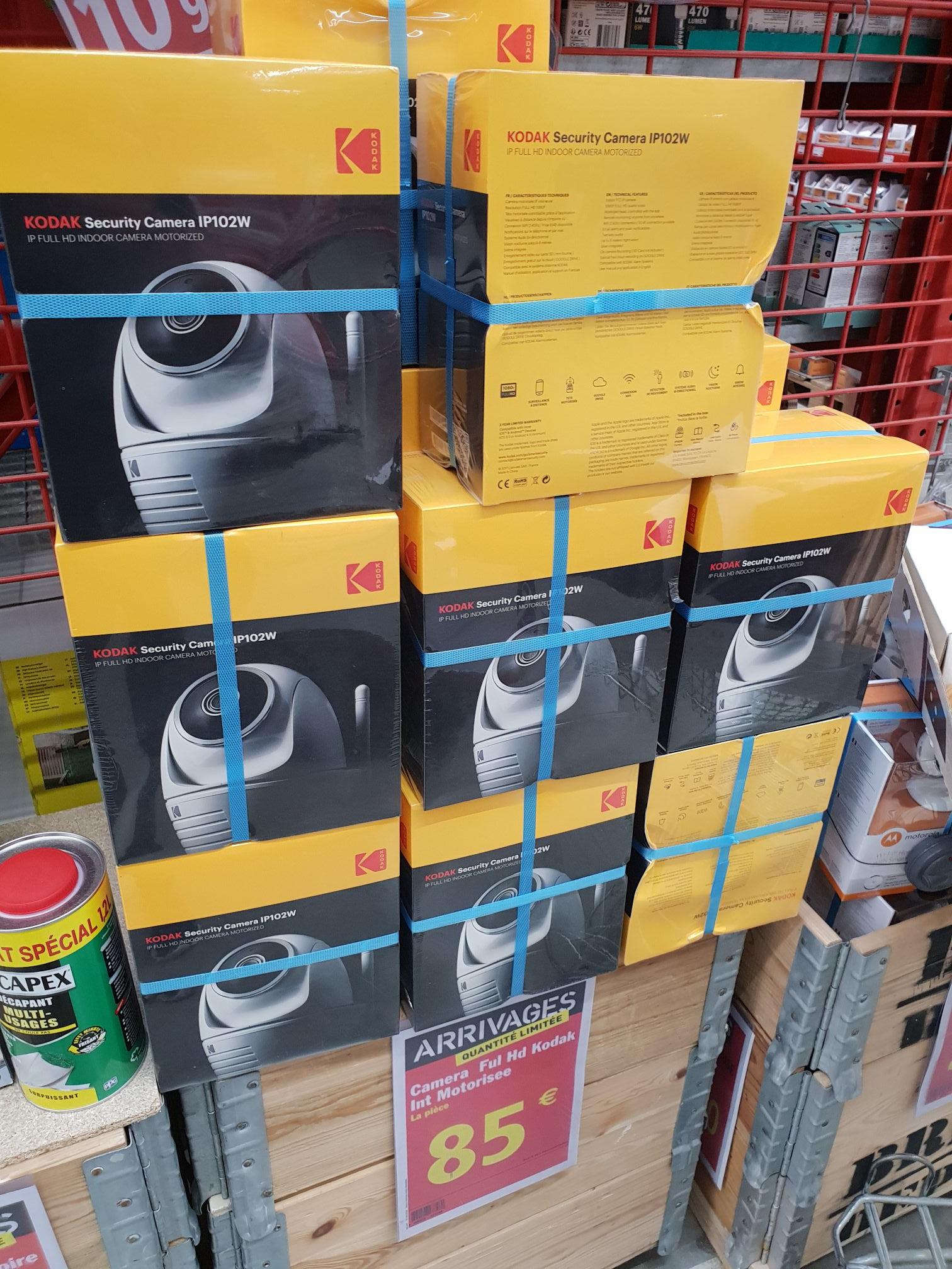 Caméra de surveillance motorisée Kodak IP102W (full HD) - Nice (06)