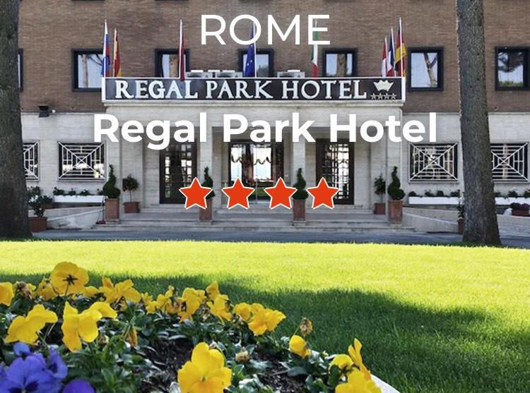 2 Nuits au Regal Park Hotel **** à Rome à partir de 62€ par personne