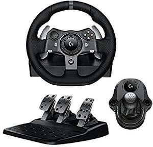 Pack Volant de Course Logitech G920 + Pédalier + Levier de Vitesse Driving Force Shifter compatible Xbox One & PC